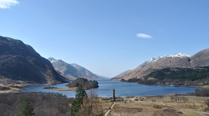 Glenfinnan, Scotland / Harry Potter film location (Discover Scotland Tours)