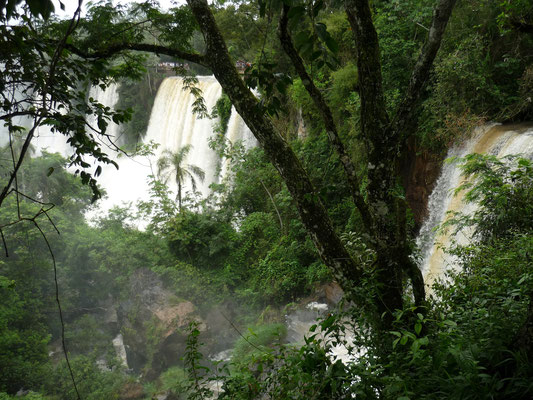 Iguazu Wasserfälle Argentinien, Upper und Lower Trail