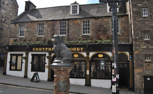 24 Stunden in Edinburgh - ein Stadtrundgang auf eigene Faust - Greyfriars Bobby