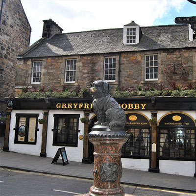 City trip Europe - Edinburgh Greyfriars Bobby