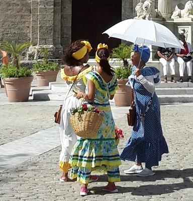Reiseroute Kuba Mexiko Rundreise und baden - Plaza de San Francisco Havanna