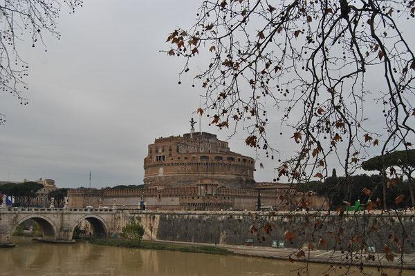 Engelsburg oder Castel Sant'Angelo in Rom