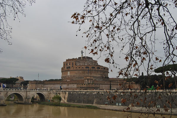 Engelsburg oder Castel Sant'Angelo in Rom (Rom 3 Tage)