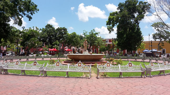 Central Park, Valladolid / Yucatan Mexico