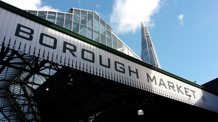 Harry Potter film locations London - Borough Market