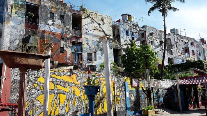 Callejon de Hamel Havanna