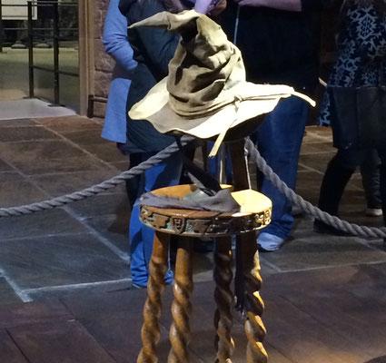Harry Potter Studio Tour - The sorting hat