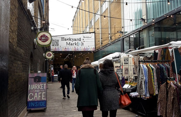 Shoreditch London area guide - best shopping and markets