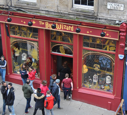 Harry Potter Shops in Edinburgh