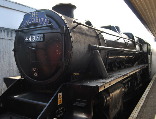 Harry Potter Zug / Hogwarts Express / The Jacobite (Discover Scotland Tours)