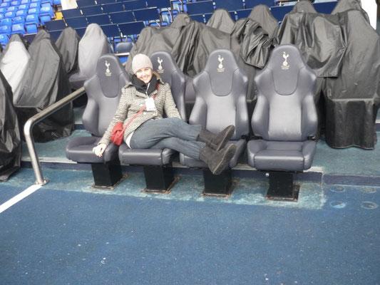 100 Dinge, die man in London machen kann - Fußballstadiontour