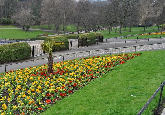 24 Stunden in Edinburgh - ein Stadtrundgang auf eigene Faust - Princes Street Gardens