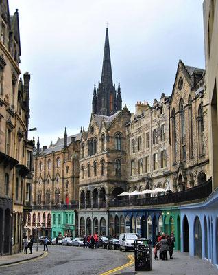 Kurztrip / Städtereise Europa - Edinburgh Victoria Street