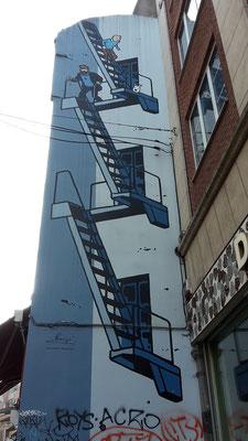 Tim und Struppi - Rue de l'Etuve / Brussels / Comic Route