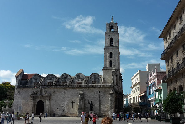 Plaza de San Francisco in der Altstadt von Havanna