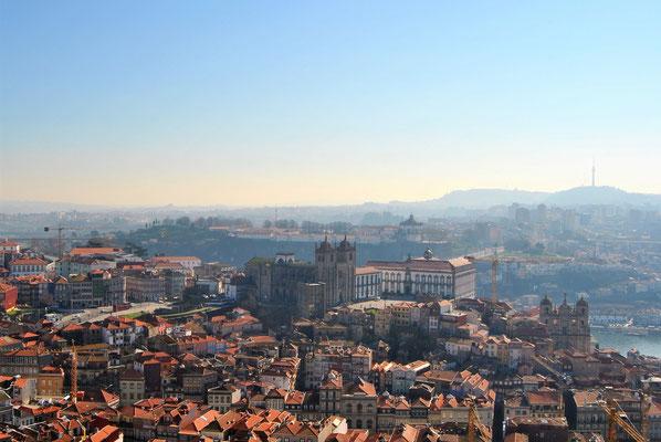 Kurztrip / Städtereise Europa - Porto Aussicht Altstadt