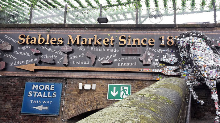 Things to do in London when it rains - Stables Market Camden