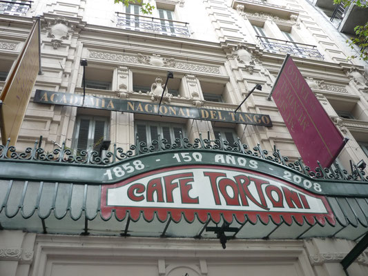 What to see and do in Buenos Aires - Cafe Tortoni