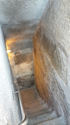 Porto Top 10 Sehenswürdigkeiten - Aufstieg Glockenturm Torre dos Clérigos