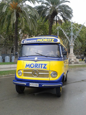 Moritz Beer Bulli in Barcelona