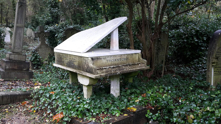 100 Dinge, die man in London machen kann - Highgate Cemetery