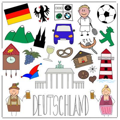 Mein Sketchnotes Reise ABC - D wie Deutschland