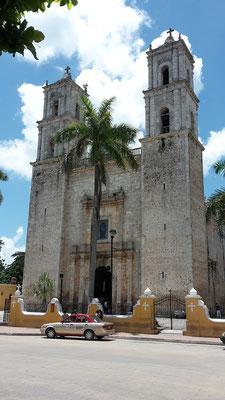 Iglesia de San Servacio in Valladolid / Yucatan Mexico