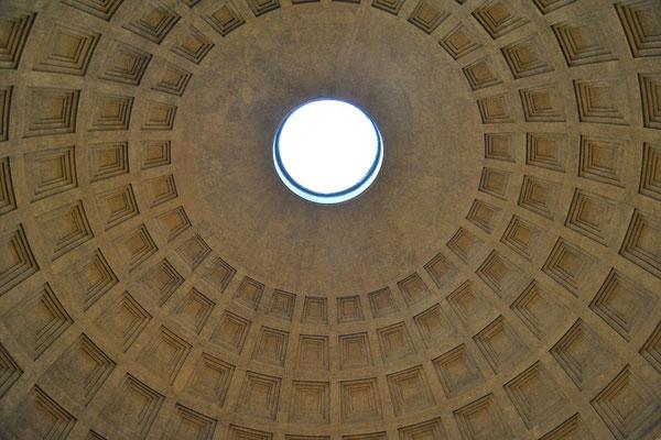 Kuppel des Pantheons in Rom