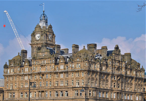 Balmoral Hotel / Harry Potter in Edinburgh / J.K. Rowling Suite