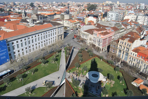 Porto Top 10 Tourist Attractions - View from the bell tower Torre dos Clérigos