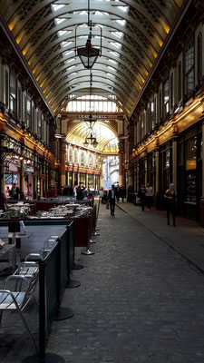 Leadenhall Market, Harry Potter film location London