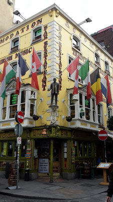 Temple Bar Area Dublin - Oliver St. John Gogarty
