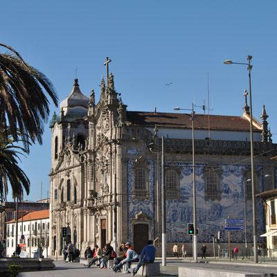 Igreja do Carmo at Praça de Gomes Teixeira in Porto