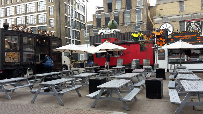 Insidertipps Shoreditch London - Street Food / Brick Lane Market