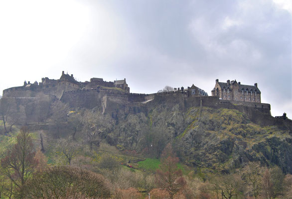 City trip Europe - Edinburgh Castle