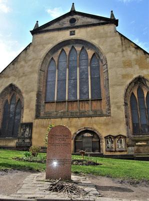 Friedhof Greyfriars Kirkyard in Edinburgh - Tom Riddles und McGonagalls Grab / Harry Potter