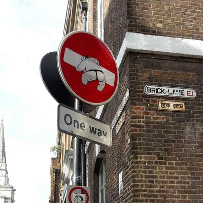 100 Dinge, die man in London machen kann - Shoreditch Street Art Tour