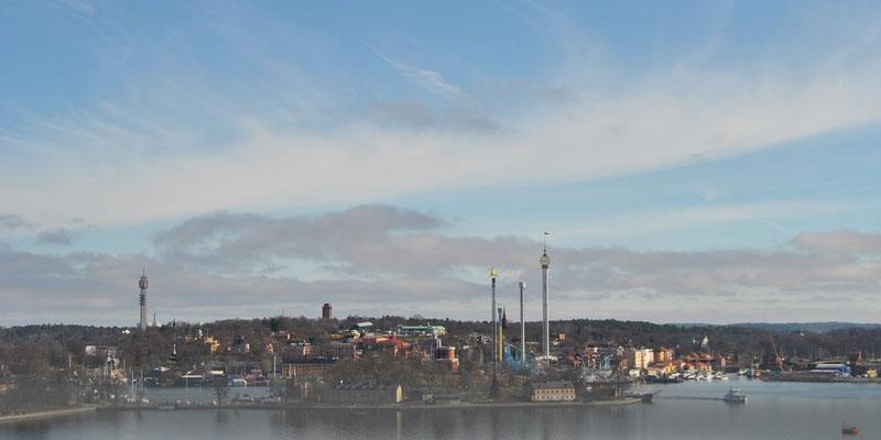 Aussichtsplattform Gondolen Stockholm