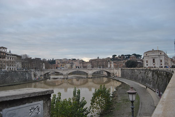 Tiber in Rom (Rom 3 Tage)
