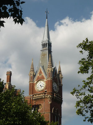 King´s Cross / St. Pancras - Harry Potter location London