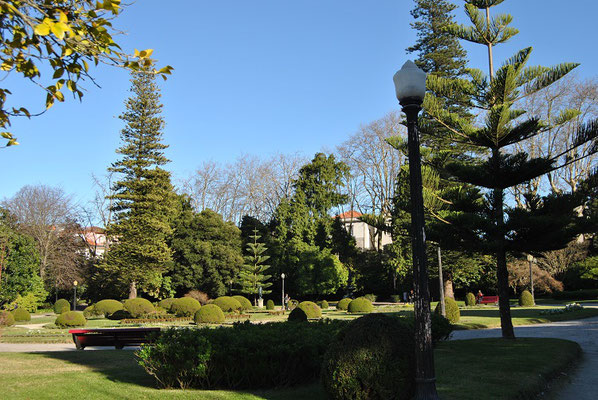 Porto Top 10 Sehenswürdigkeiten - Parkanlage Jardins do Palácio de Cristal in Porto