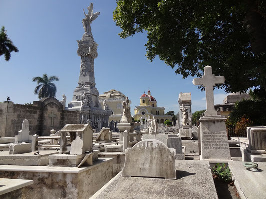 Friedhof Cementerio de Colon Havanna