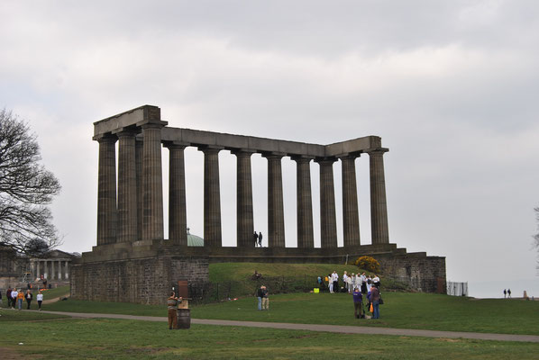 24 Stunden in Edinburgh - ein Stadtrundgang auf eigene Faust - Calton Hill