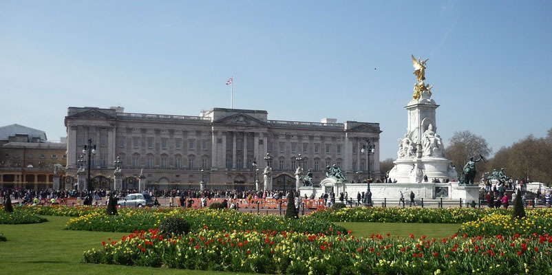 100 Dinge, die man in London machen kann - Buckingham Palace