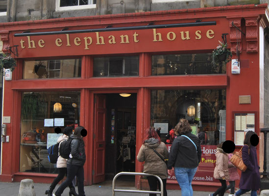24 Stunden in Edinburgh - ein Stadtrundgang auf eigene Faust - The Elephant House