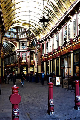 Top markets London - Leadenhall Market