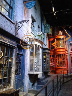 London bei Regen - Harry Potter Studios