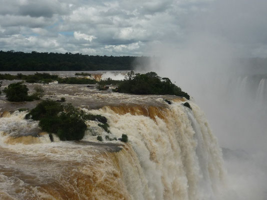 Iguazu - the most spectacular waterfalls in the world / Brasil