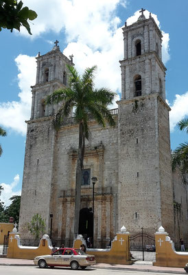 Cuba Mexico itinerary 2 weeks - Iglesia de San Servacio Valladolid