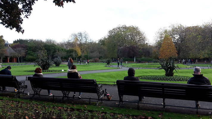 Saint Stephen´s Green Park, Dublin